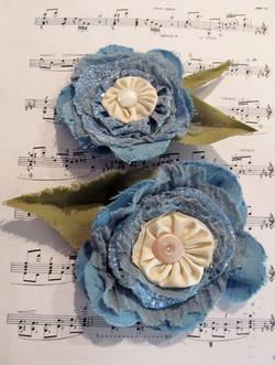 Hair/Hat Flowers