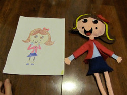 Dolls from Kids Drawings