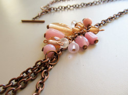 Candied Copper Necklace