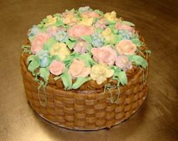 Buttercream Garden Cake