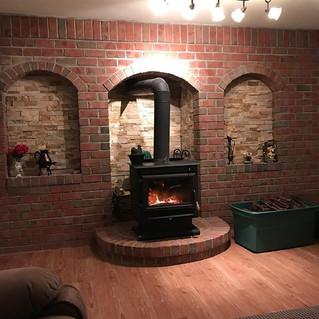 Custom build back brickwall bricks that
