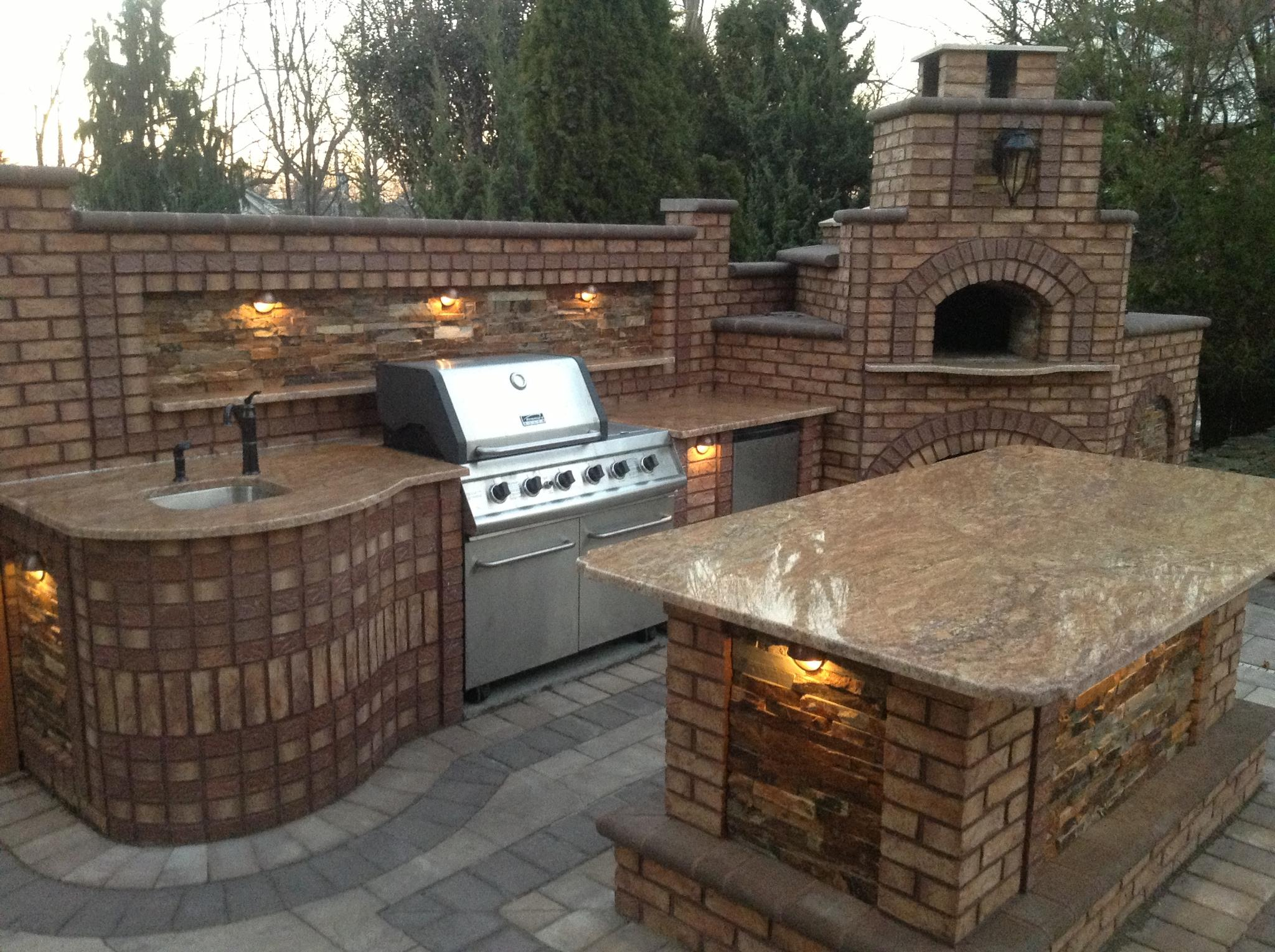 Outdoor Kitchen Bricks