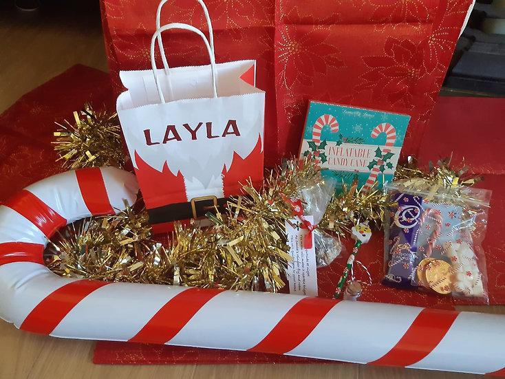 Personalised Christmas Eve Goodie Bag