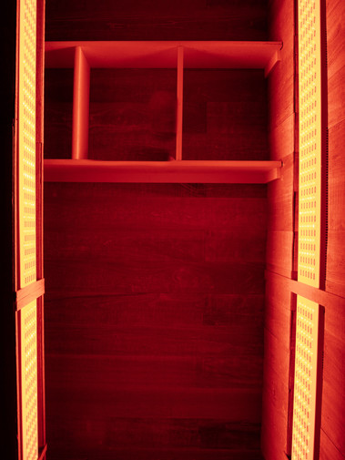 Infrared Light Treatment Booth
