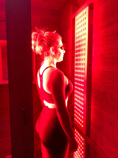Infrared Light Therapy Room