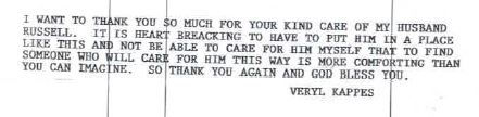 Veryl Kappes Thank You note.JPG
