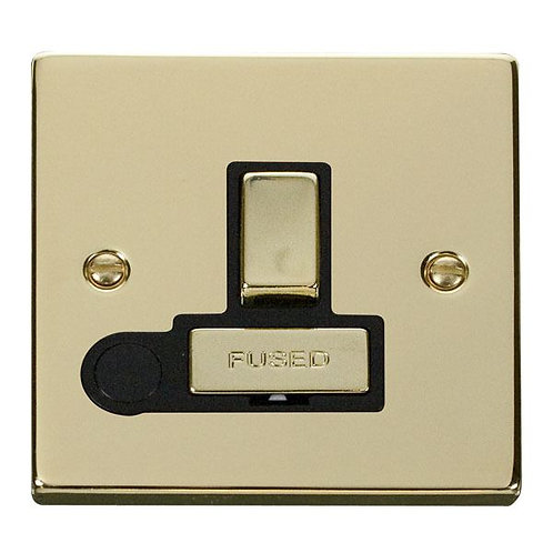 Click Deco VPBR551 13A Fused 'Ingot' Switched Connection Unit With Flex Outlet