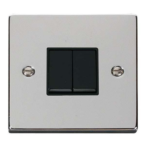 Click Deco VPCH012 2 Gang 2 Way 10AX Switch