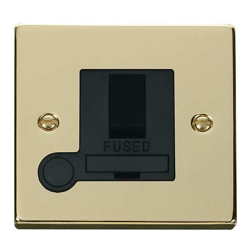Click Deco VPBR051 13A Fused Switched Connection Unit With Flex Outlet