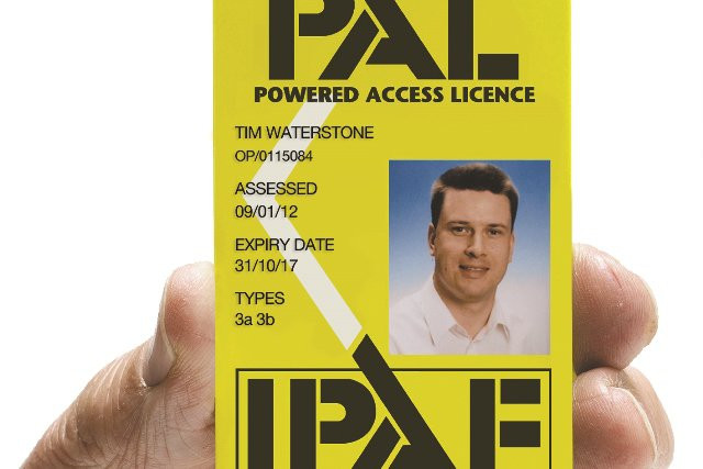 IPAF Card