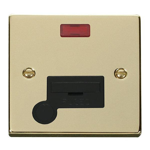 Click Deco VPBR053 13A Fused Connection Unit With Flex Outlet & Neon