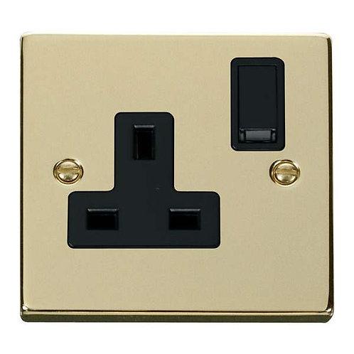 Click Deco VPBR035 1 Gang 13A DP Switched Socket Outlet