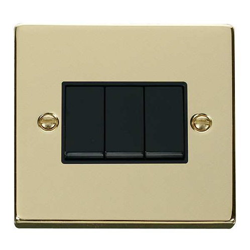 Click Deco VPBR013 3 Gang 2 Way 10AX Switch