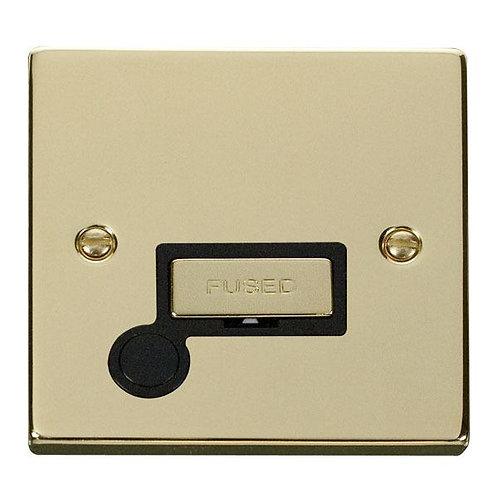 Click Deco VPBR550 13A Fused 'Ingot' Connection Unit With Flex Outlet