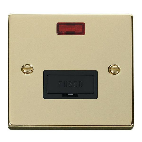 Click Deco VPBR653 13A Fused Connection Unit With Neon