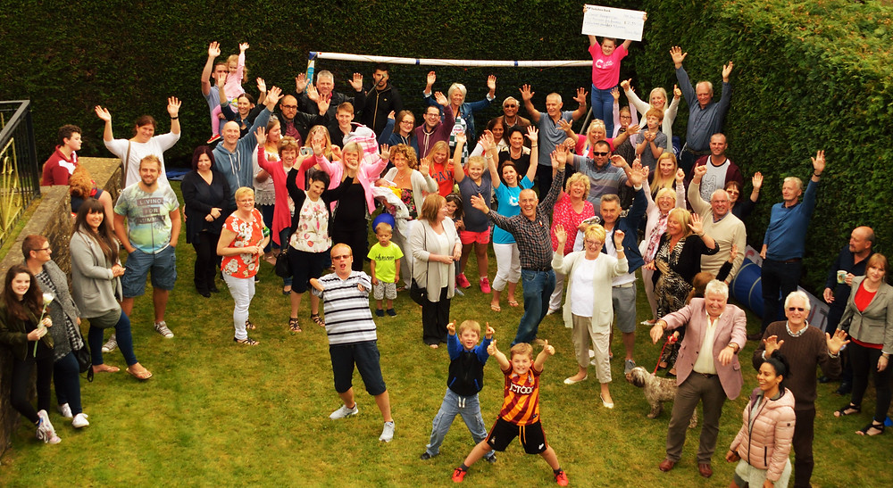 Charity Fun Day Crowd