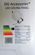 PRODUCT RECALL LED Panel Light