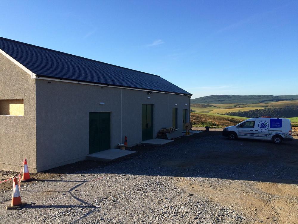 LV Installation for windfarm