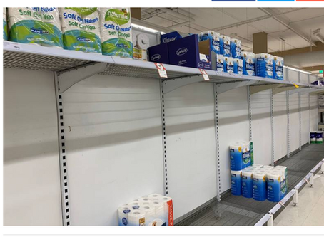 How panic buying of toilet paper is the perfect analogy for anxiety