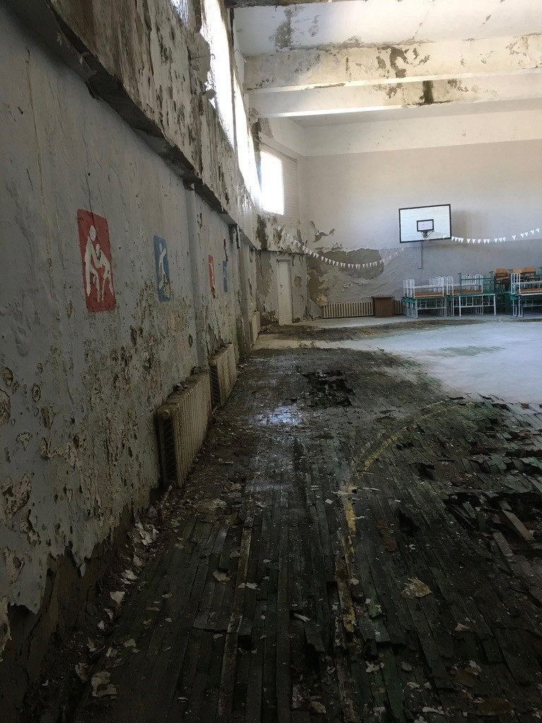 The gymnasium, Stepanavan school