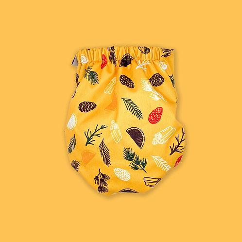 Pistachio Pocket Hybrid Nappy - Popper