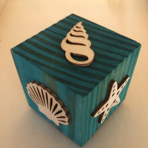 Wooden Block 6 Sided Stamps