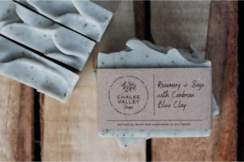 Rosemary & Sage with Cambrian Blue Clay