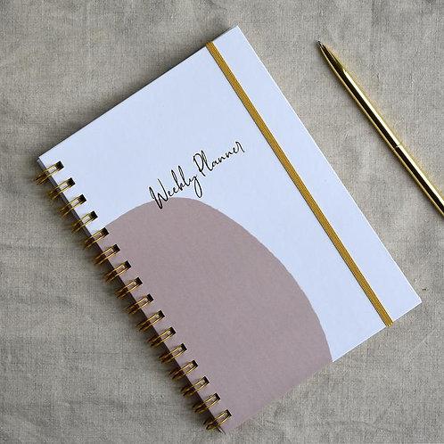 Weekly Desk Planner & Journal
