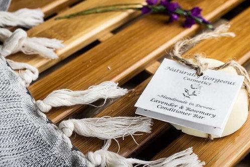 Lavender & Rosemary solid conditioner bar