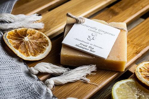 Fruit tea solid shampoo bar