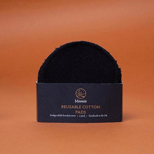 Reusable cotton pads - Black