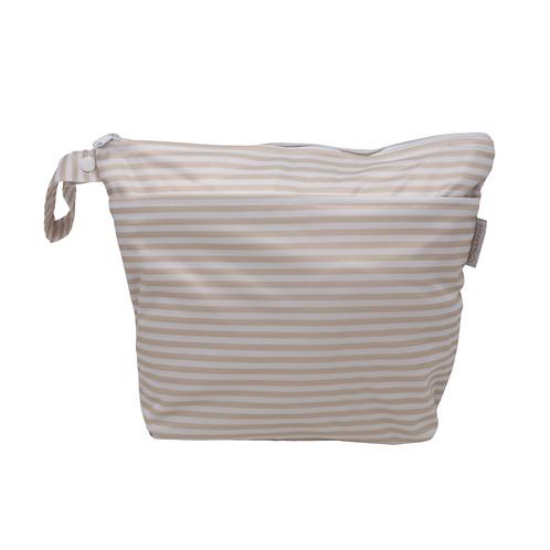 Linen Stripes wetbag
