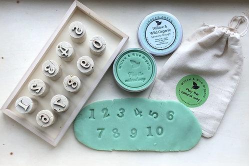 Number Cork Stamps