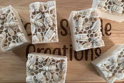 Natural busy bee soap
