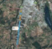 Ubicacion cabañas el mediteraneo en Quillon Chile