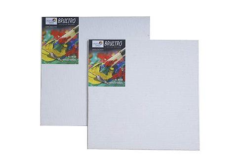 "Brustro 100% Cotton Canvas Board Medium Grain 8""X10"" (Pack of 2)"