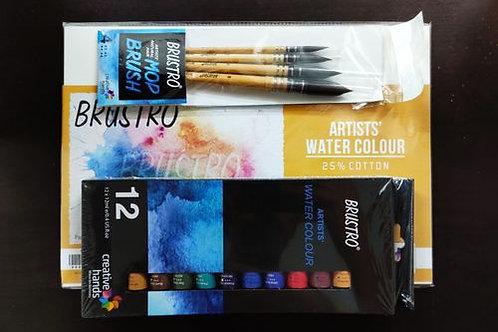 Watercolor Materials Combo 1