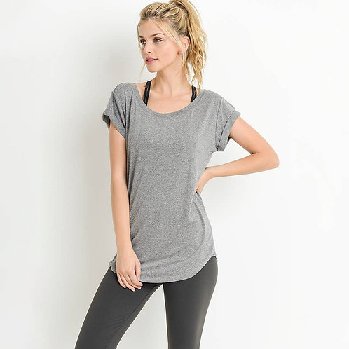 Cap-Sleeve Shirt