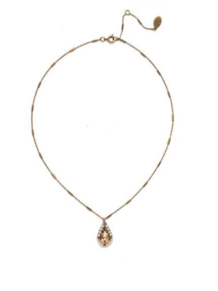 Delicate Drop Pendant Necklace