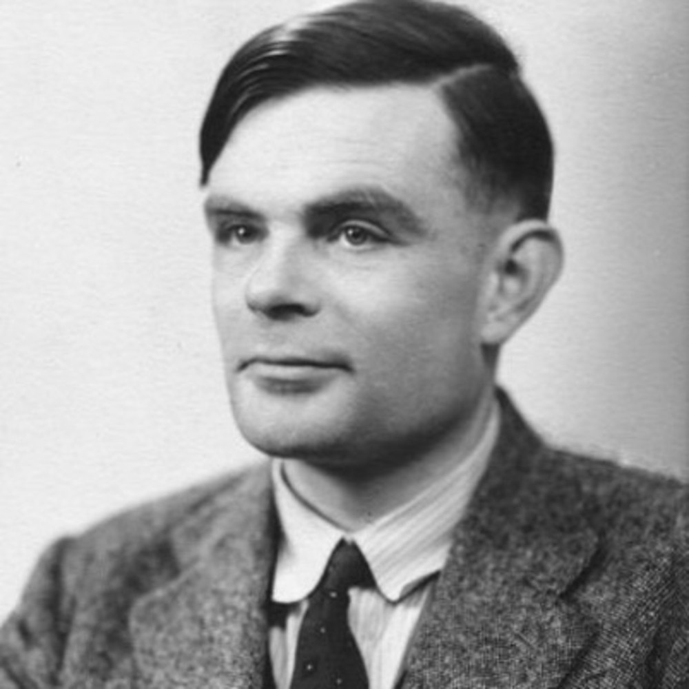The famous British mathematician and solver of the Nazi Enigma Code: Alan Turing. Turing is also credited with being the father of the modern day computer. (Image Source: Alamy)