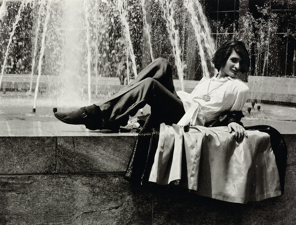 Sylvia Rivera in 1970. (Image Source: New York Public Library/Kay Tobin)