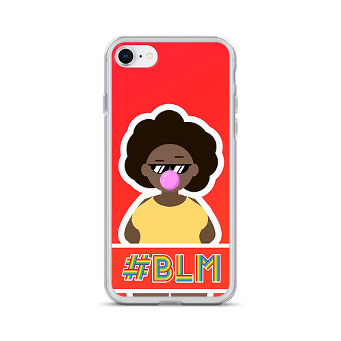 #BLM iPhone Case: Red