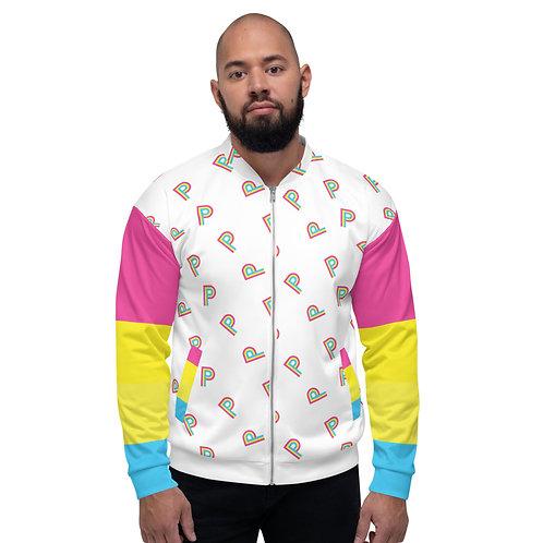 PRISM Pride Bomber Jacket: Pansexual