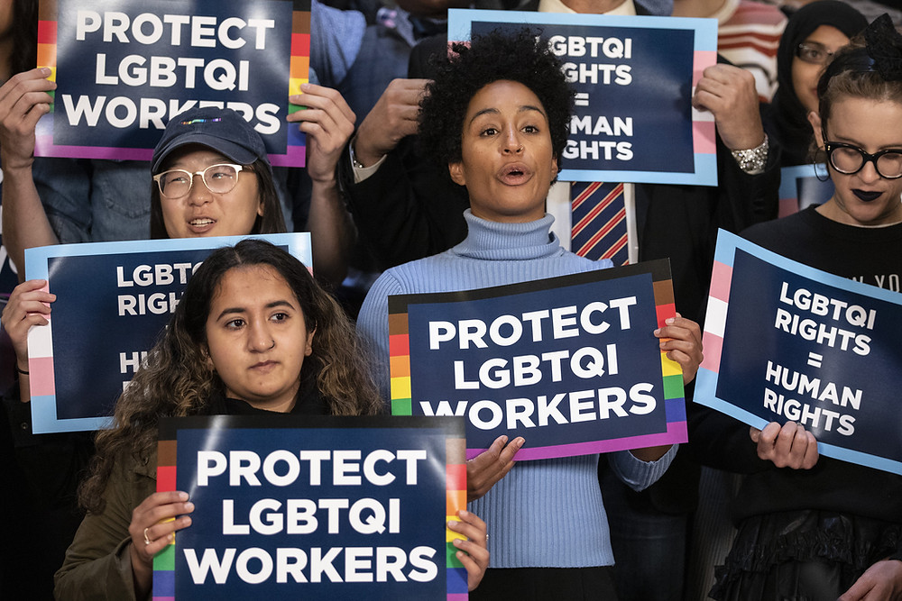 "According to the National LGBTQ Workers Center, "" 4.5% of the population identifies as lesbian, gay, bisexual, or transgender"" meaning that this legislation has the possibility of affecting nearly 14,769,000 people nationwide. (Image Source: Drew Angerer / Getty Images)"
