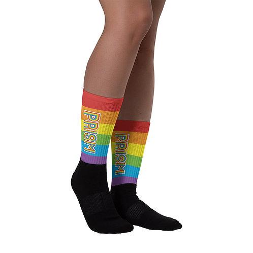PRISM Pride Socks: Logo