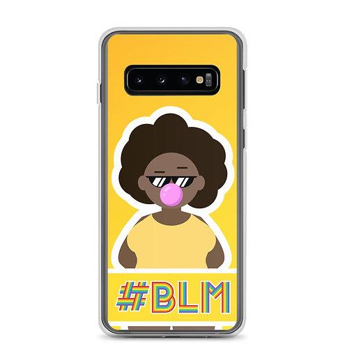 #BLM Samsung Case: Yellow
