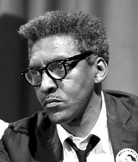 Bayard Rustin was raised into a non-violent lifestyle (Image Source: Universal Images Group/Getty Images)