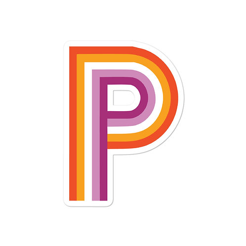 PRISM Pride Sticker: Lesbian
