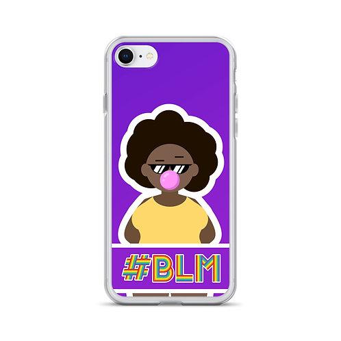 #BLM iPhone Case: Purple