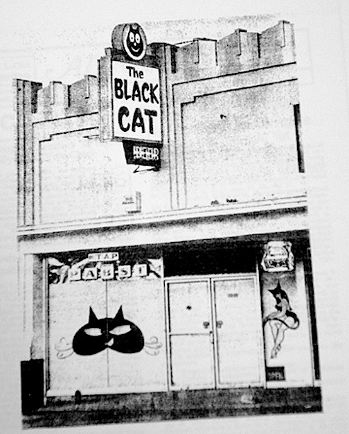 Black Cat Tavern in 1966 (Image Source: Unknown)